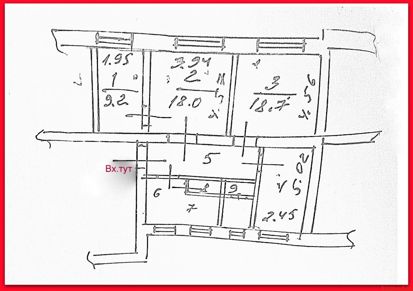 Продажа 4-к квартиры Рахимова, 11, 85 м² (миниатюра №2)