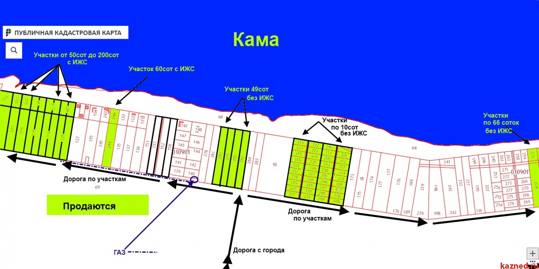 На р.Каме-В Черте города-Продажа Земельных участков ИЖС от 10соток до  (миниатюра №47)