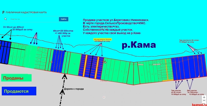 На р.Каме-В Черте города-Продажа Земельных участков ИЖС от 10соток до  (миниатюра №6)