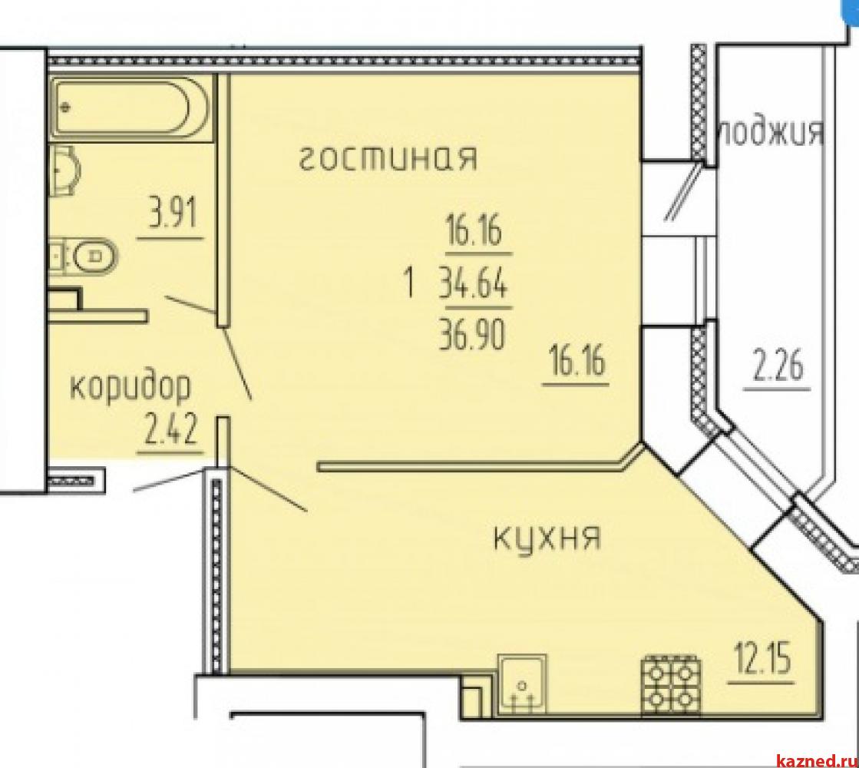 Продажа 1-к квартиры Рауиса Гареева 96, 38 м2  (миниатюра №10)