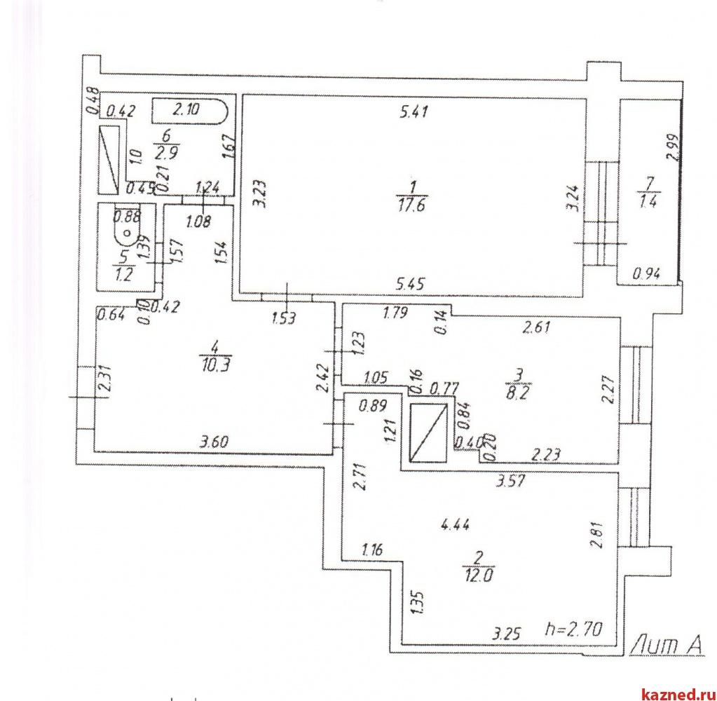 Продажа 2-к квартиры Альберта Камалеева,16, 54 м² (миниатюра №9)