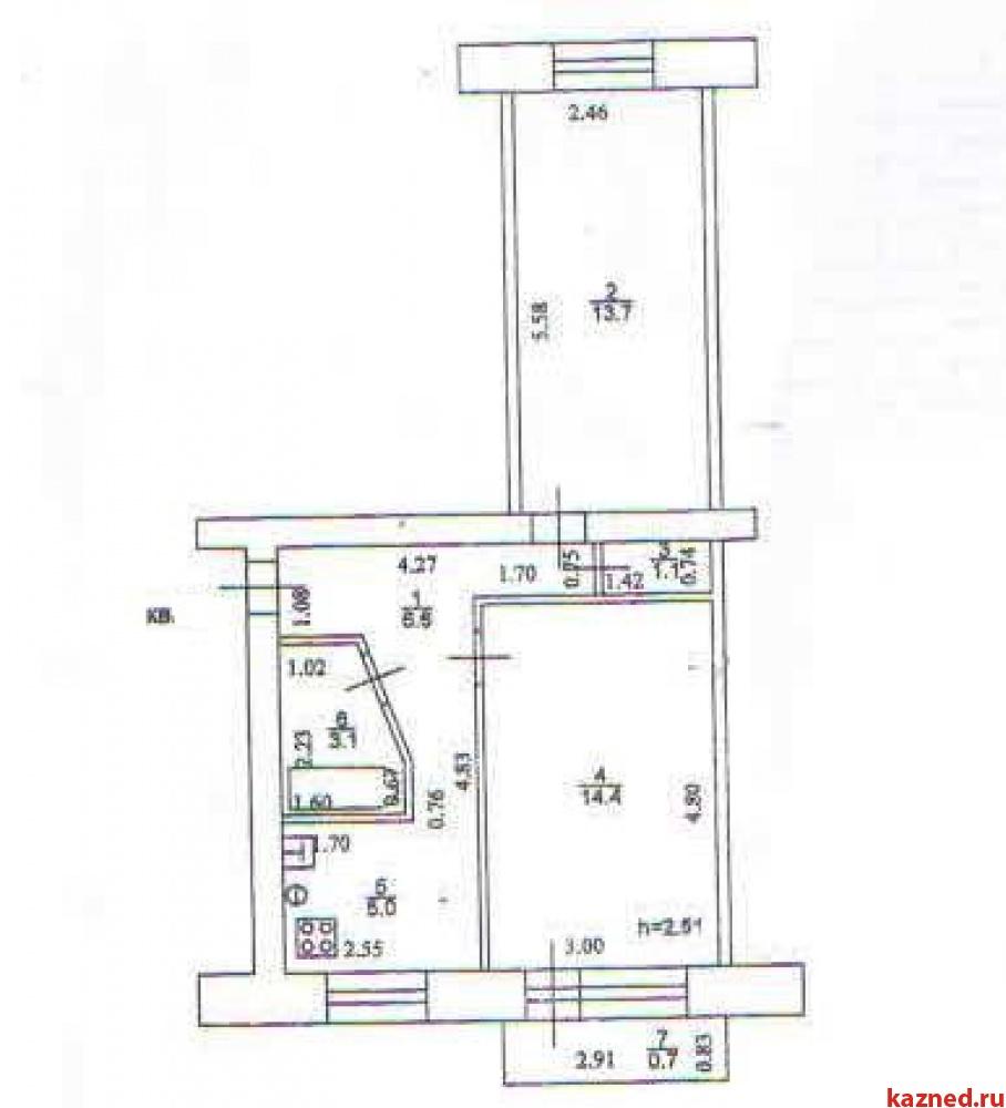 Продажа 2-к квартиры Солидарности, д.26, 44 м² (миниатюра №3)