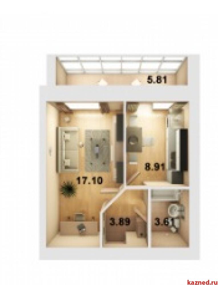 Продажа 1-к квартиры ЖК Весна (Мамадышский тракт), 36 м² (миниатюра №5)
