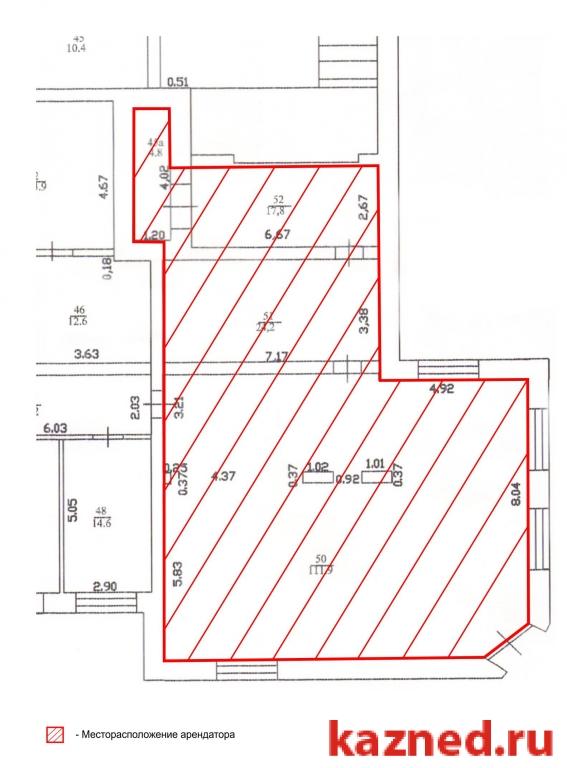 Аренда офисно-торговое помещение Амирхана, 17, 155 м2  (миниатюра №1)