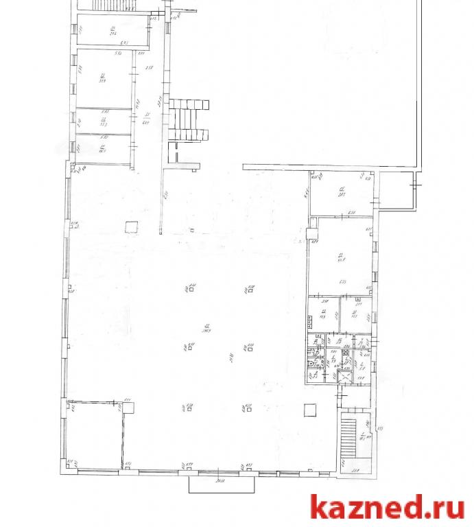 Аренда  офисно-торговые 2-ая Азинская, 7, 50 м2  (миниатюра №1)