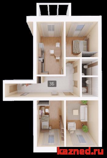 Продажа 3-к квартиры Восстания,129 (ост. Тасма), 103 м²  (миниатюра №2)