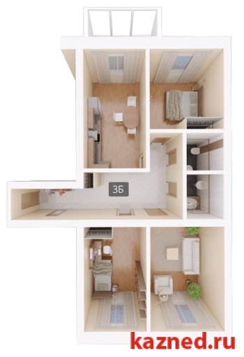 Продам 3-комн.квартиру Восстания,129 (ост. Тасма), 103 м2  (миниатюра №3)