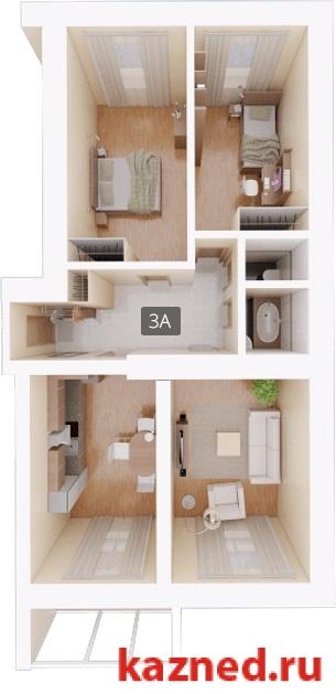Продажа 3-к квартиры Восстания,129 (ост. Тасма), 97 м2  (миниатюра №1)