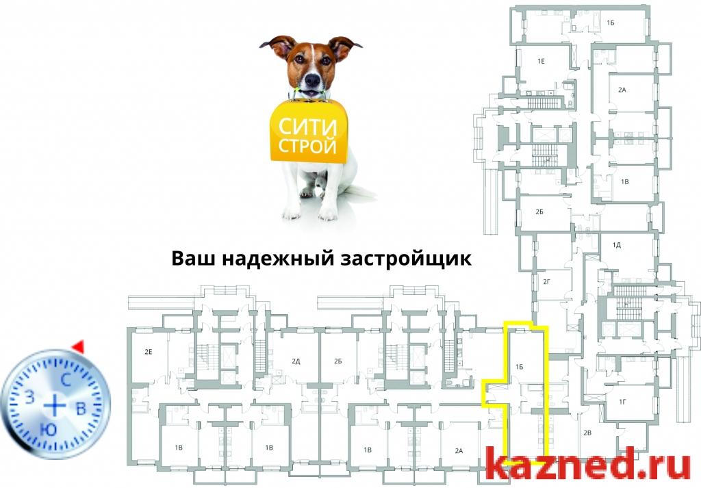 Продажа 1-к квартиры Камая, д.8, 1 очередь, 55 м²  (миниатюра №3)