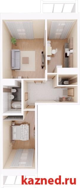 Продажа 2-к квартиры Камая, д.8, 1 очередь, 74 м2  (миниатюра №1)