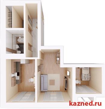 Продажа 2-к квартиры Камая, д.8, 1 очередь, 70 м2  (миниатюра №3)