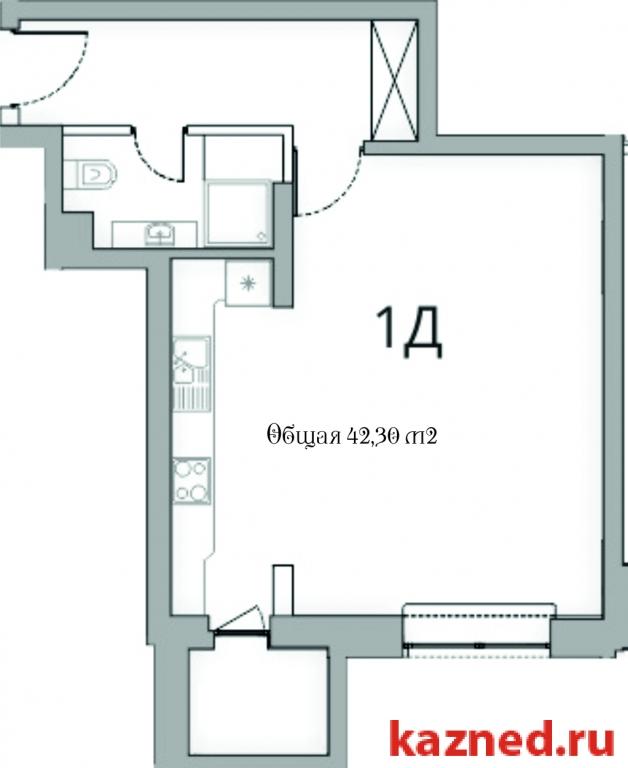 Продажа 1-к квартиры Камая, д.8, 1 очередь, 49 м²  (миниатюра №1)