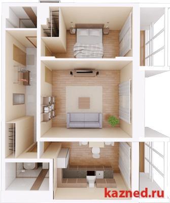 Продам 2-комн.квартиру Камая, д.8, 1 очередь, 69 м2  (миниатюра №1)