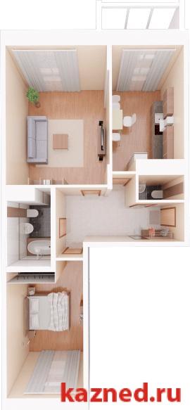 Продажа 2-к квартиры Камая, д.8, 1 очередь, 71 м2  (миниатюра №1)