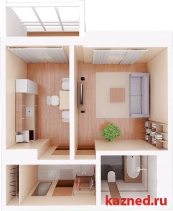 Продажа 1-к квартиры Камая, д.8а, 2 очередь, 46 м2  (миниатюра №1)