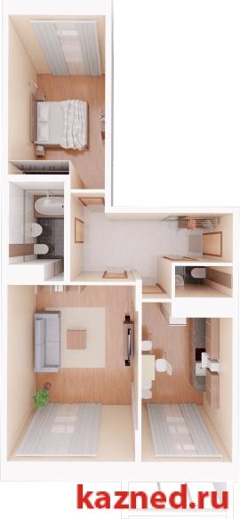 Продажа 2-к квартиры Камая, д.8а, 2 очередь, 72 м²  (миниатюра №1)