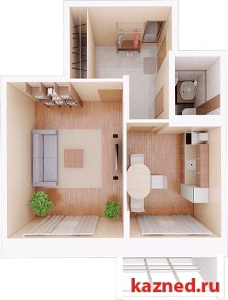 Продам 1-комн.квартиру Камая, д.8а, 2 очередь, 48 м2  (миниатюра №1)