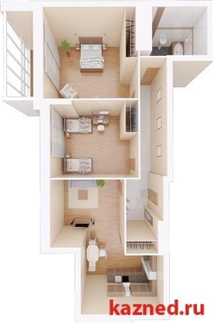Продажа 2-к квартиры Камая, д.8, 1 очередь, 68 м² (миниатюра №1)
