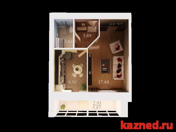 Продажа 1-к квартиры Спартаковская 88, 37 м²  (миниатюра №1)