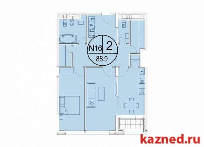 Продажа 2-к квартиры Щербаковский переулок, 7, 89 м²  (миниатюра №5)
