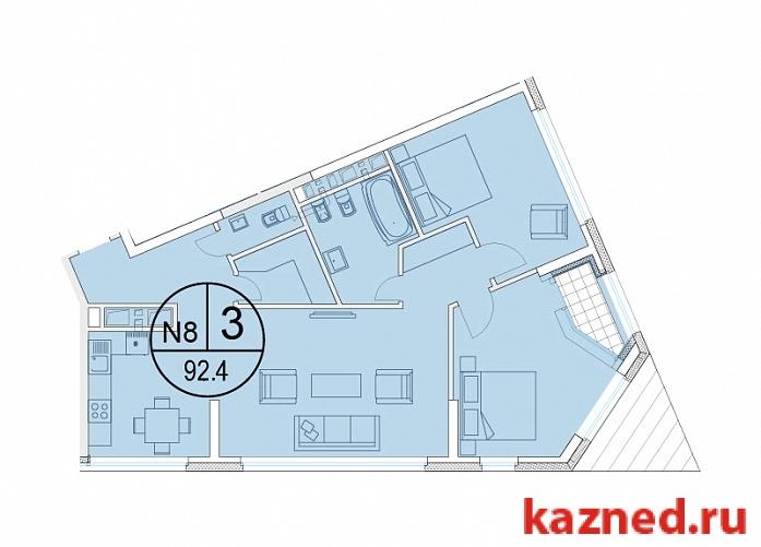 Продажа 3-к квартиры Щербаковский переулок, 7, 97 м²  (миниатюра №5)