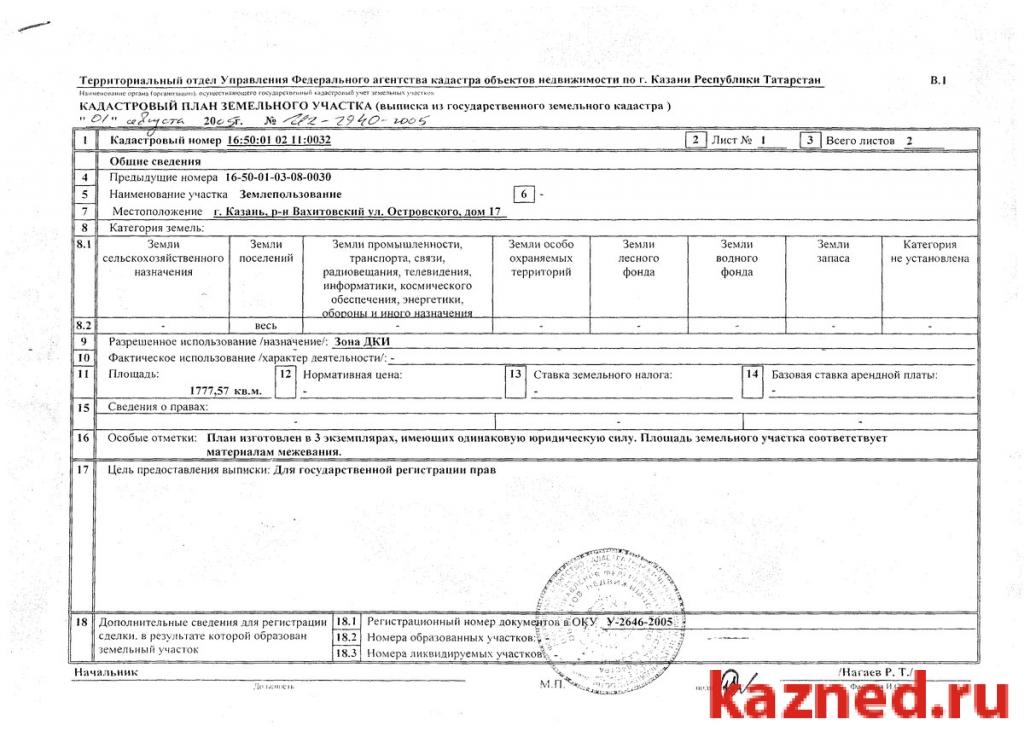 Продам участок в Казани (миниатюра №2)