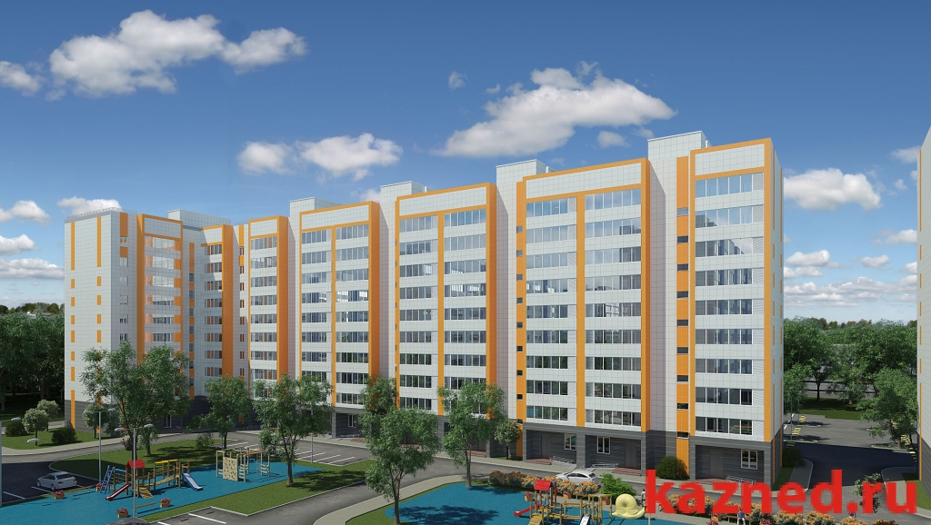 Продажа 2-к квартиры Даурская ЖК Журавли д 1, 49 м2  (миниатюра №1)