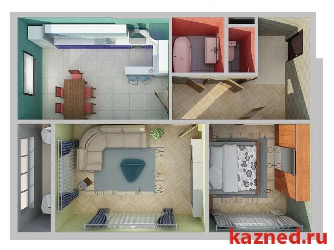 Продажа 2-к квартиры жк светлый, 63 м2  (миниатюра №3)