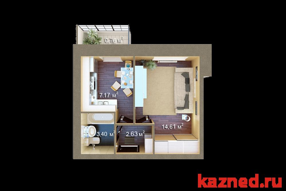 Продажа 1-к квартиры ЖК Царево, 29 м² (миниатюра №4)