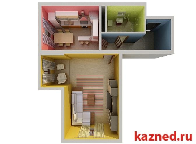 Продажа 1-к квартиры жк светлый, 46 м2  (миниатюра №2)