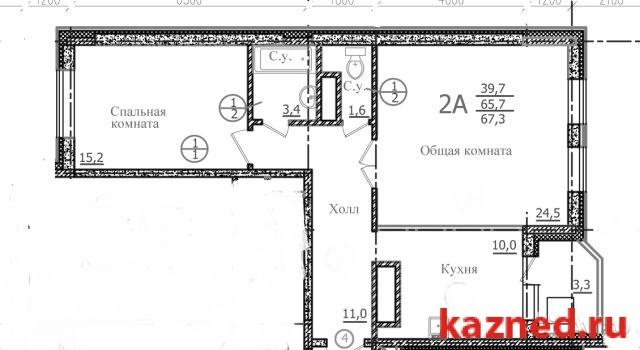 Продажа 2-к квартиры , 45 м2  (миниатюра №3)