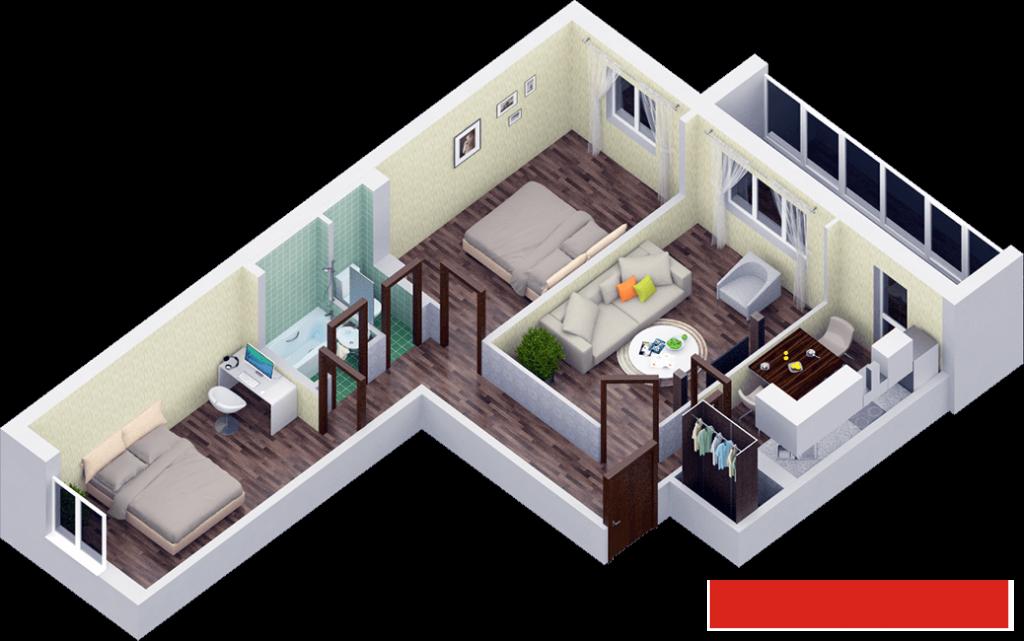 Продажа 3-к квартиры , 78 м²  (миниатюра №1)