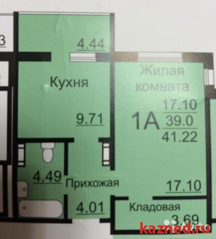 Продажа 1-к квартиры Натана рахлина ЖК СВЕТЛАЯ ДОЛИНА, 42 м²  (миниатюра №2)