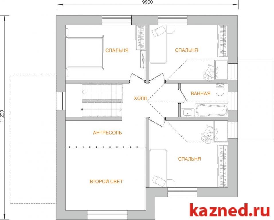 Продажа  дома , 136 м2  (миниатюра №4)