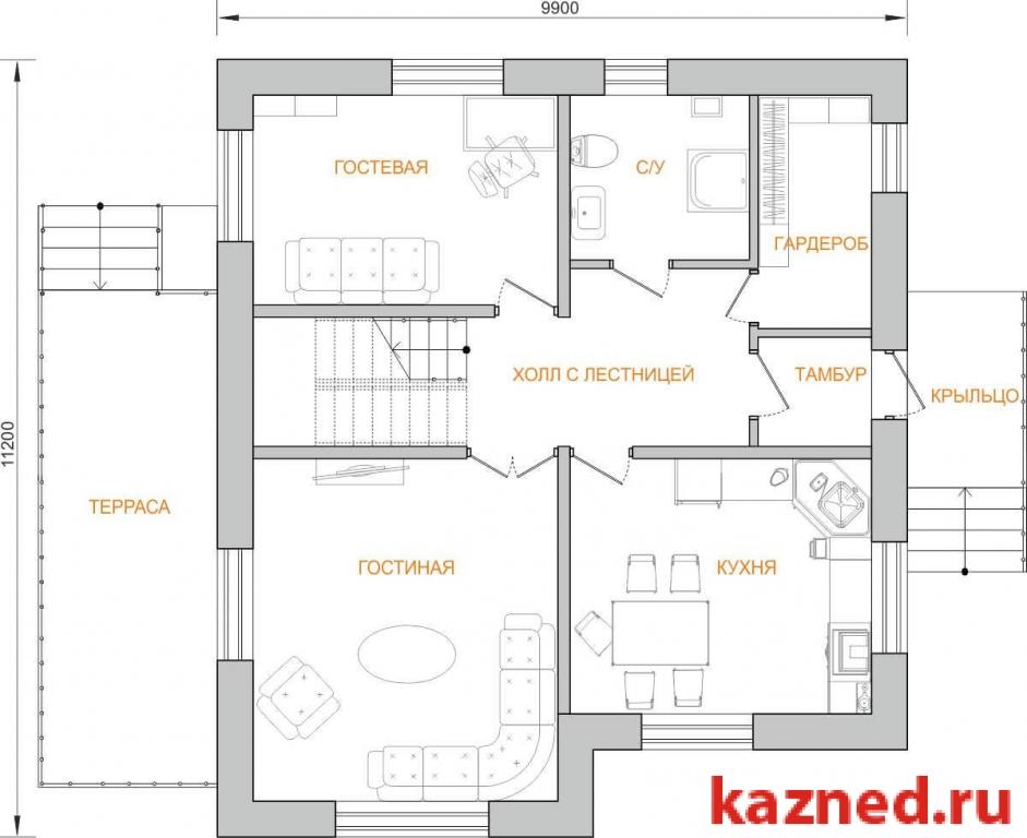 Продажа  дома , 136 м2  (миниатюра №3)