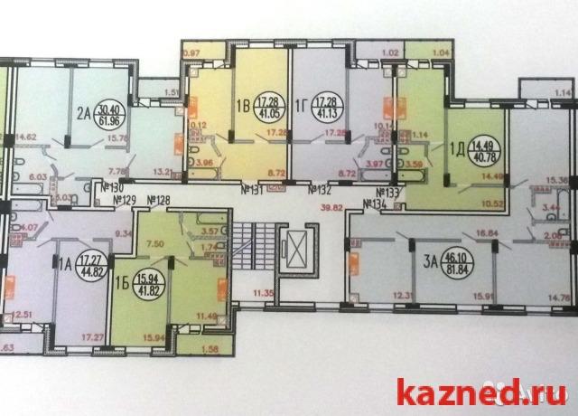 Продажа 1-к квартиры Счастливая с Усады Лаишевский район, 41 м2  (миниатюра №2)