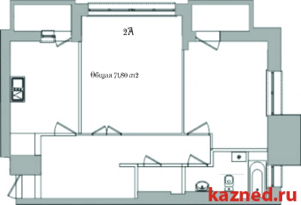 Продажа 2-к квартиры Тихомирнова,19, 73 м2  (миниатюра №2)