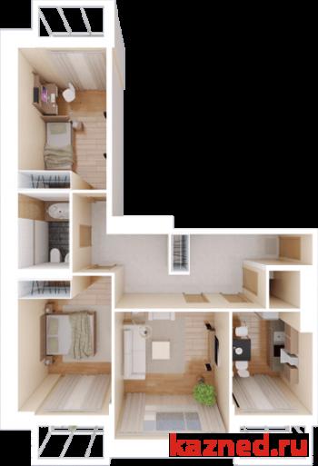 Продажа 3-к квартиры Тихомирнова,19, 96 м²  (миниатюра №2)