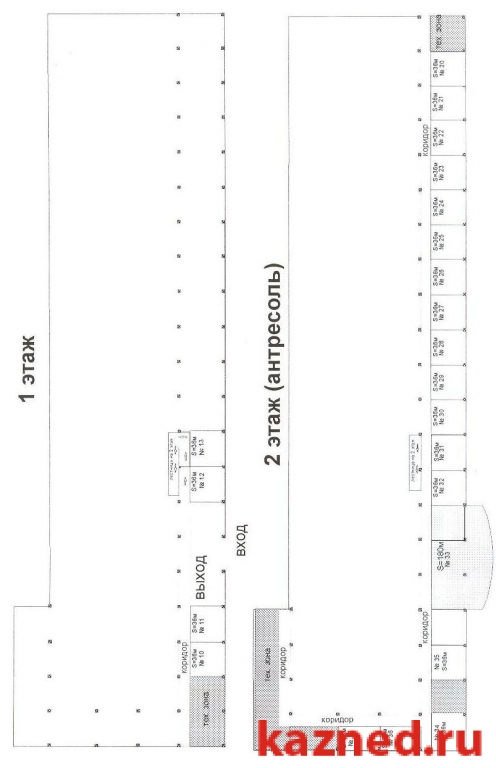Аренда  офисно-торговые 2-ая Азинская,7, 20 м2  (миниатюра №2)