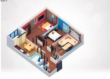 Продажа 3-к квартиры пр.Строителей , 79.0 м² (миниатюра №1)