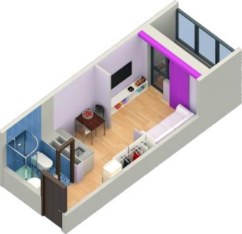 Продажа 1-к квартиры пр. Строителей , 19.0 м² (миниатюра №2)