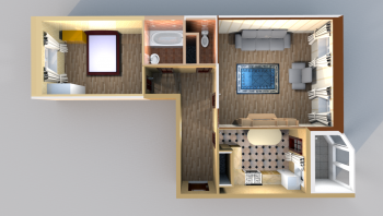 Продажа 2-к квартиры Лукина/Годовикова, 67.0 м² (миниатюра №4)