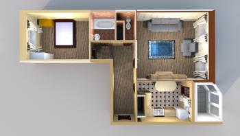 Продажа 2-к квартиры Годовикова/Лукина, 65 м² (миниатюра №2)