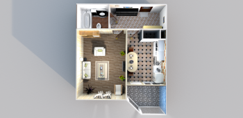 Продажа 1-к квартиры Годовикова/Лукина, 45.1 м² (миниатюра №1)