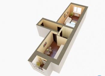 Продажа 1-к квартиры ЖК Царево, 7, 38.0 м² (миниатюра №2)