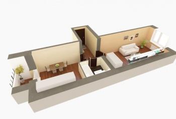 Продажа 1-к квартиры ЖК Царево, 7, 38.0 м² (миниатюра №4)