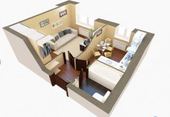 Продажа 1-к квартиры ЖК Царево, 7, 29.0 м² (миниатюра №2)