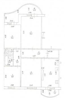 Продажа 4-к квартиры Гайсина,6 ЖК Радужный, 90.0 м² (миниатюра №8)