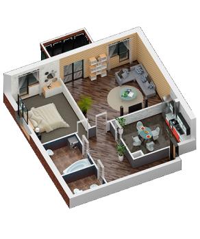 Продажа 2-к квартиры Некрасова 28, 94.0 м² (миниатюра №2)