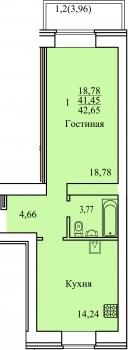 Продажа 1-к квартиры Оренбургский тракт пересеч. с ул. Рауиса Гареева